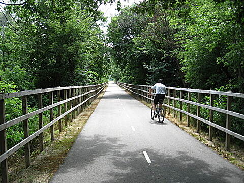 Fox River State Trail Good bridge