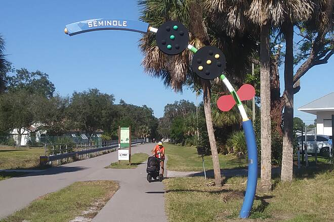 Fred Marquis Pinellas Trail Pinellas Trail Just another GREAT day on the trail.....