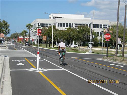 Fred Marquis Pinellas Trail   Multi-use street in Clearwater.