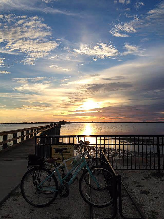 Fred Marquis Pinellas Trail Pinellas Trail 'Sunset in Dunedin'
