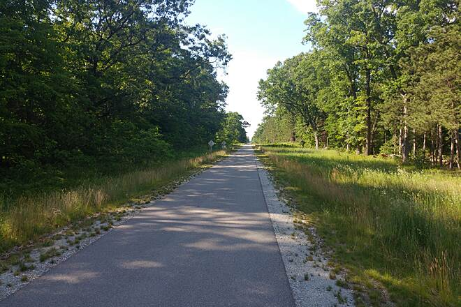 Fred Meijer Berry Junction Trail Just north of W McMillan Rd Taken on June 19, 2016