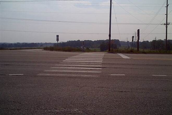 Fred Meijer M-6 Trail Crossing at Byron Center Rd -1 Please use extreme caution