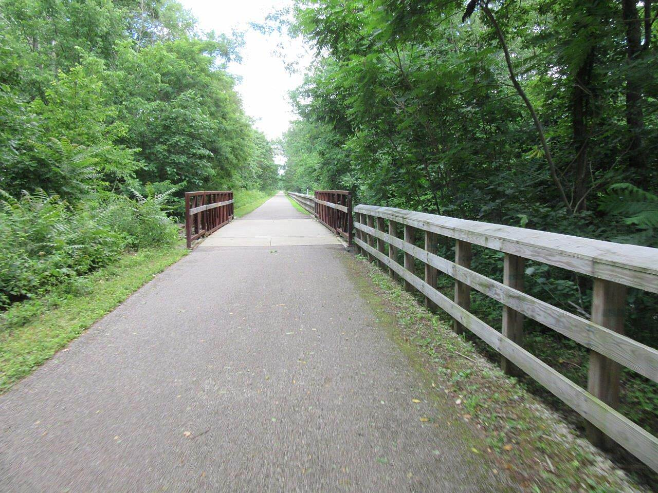 Freedom Trail (OH) Riding along the trail-June, 2017 Enjoying a nice ride along the trail