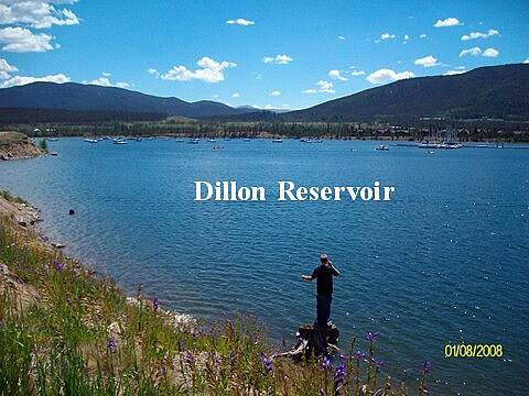 Frisco-Farmers Korner Recpath Dillon Reservoir Fishing