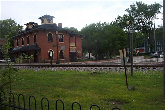 Galena River Trail  Historic Depot