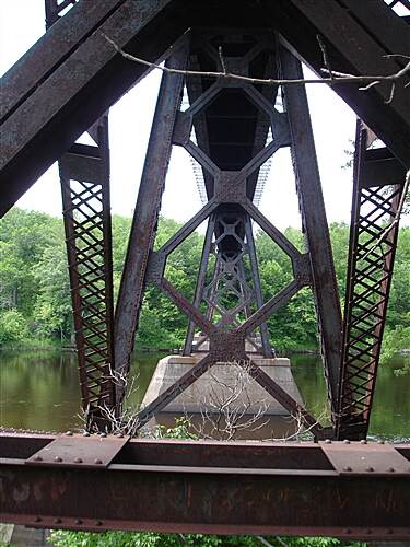 Gandy Dancer Trail - Northern Section Bridge over the St Croix