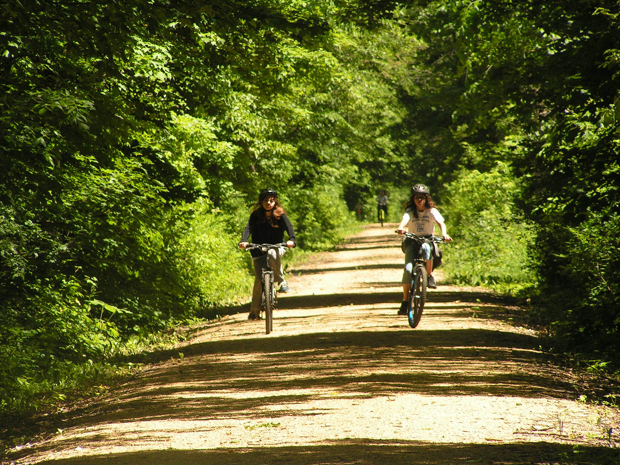 Gandy Dancer Trail - Southern Section Just a leisure type of day. I strongly suggest this trail for the family!