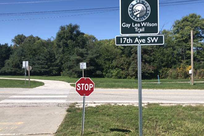 Gay Lea Wilson Trail Close to Dog Park starting point