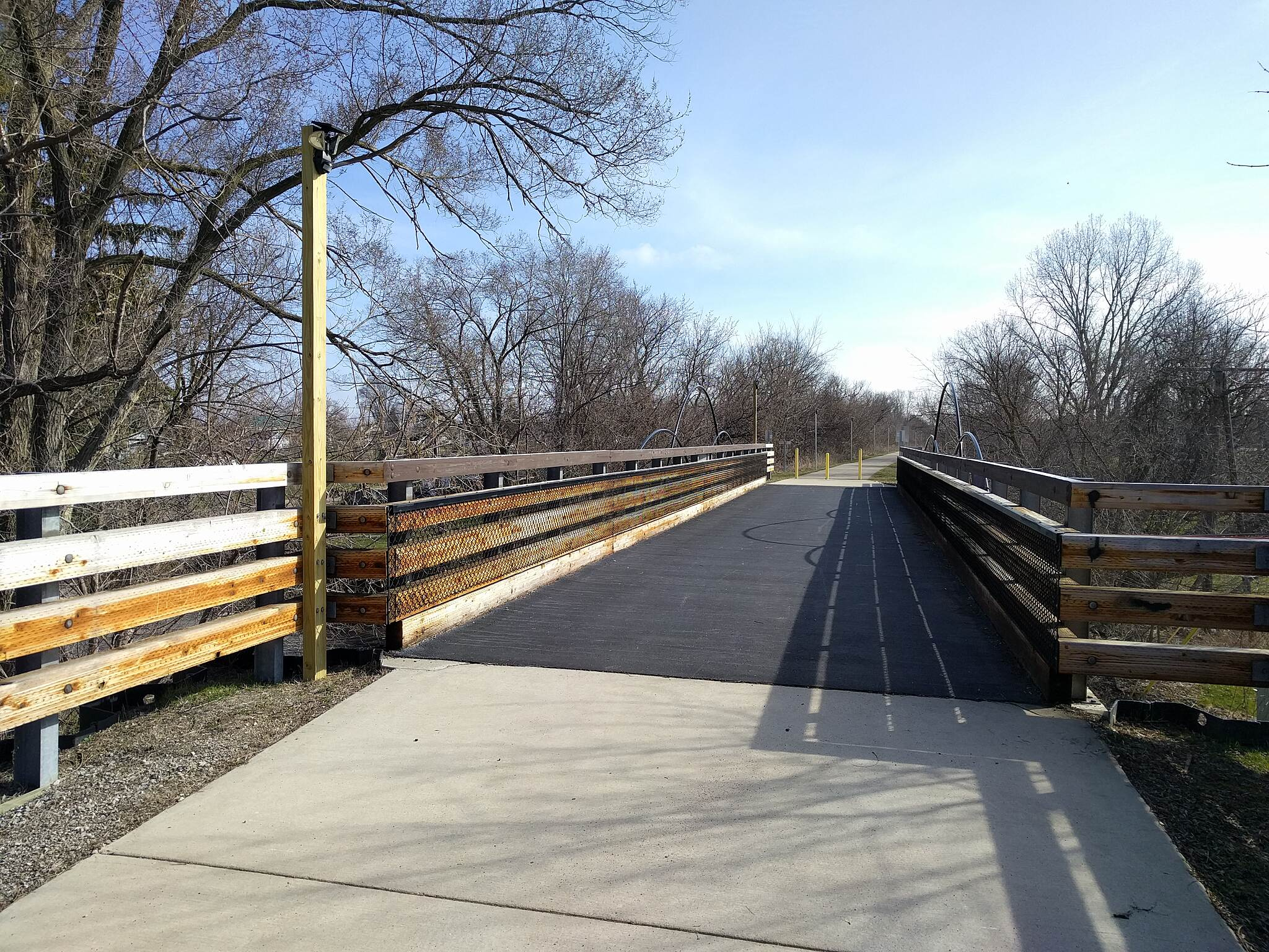 Genesee Valley Trail Bridge over Graham Road