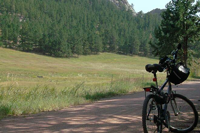 George S. Mickelson Trail Between Custer and Crazy Horse
