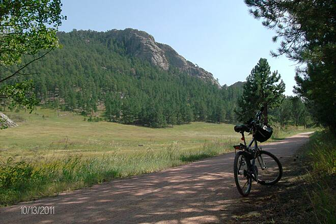 George S. Mickelson Trail Near Custer to Crazy Horse