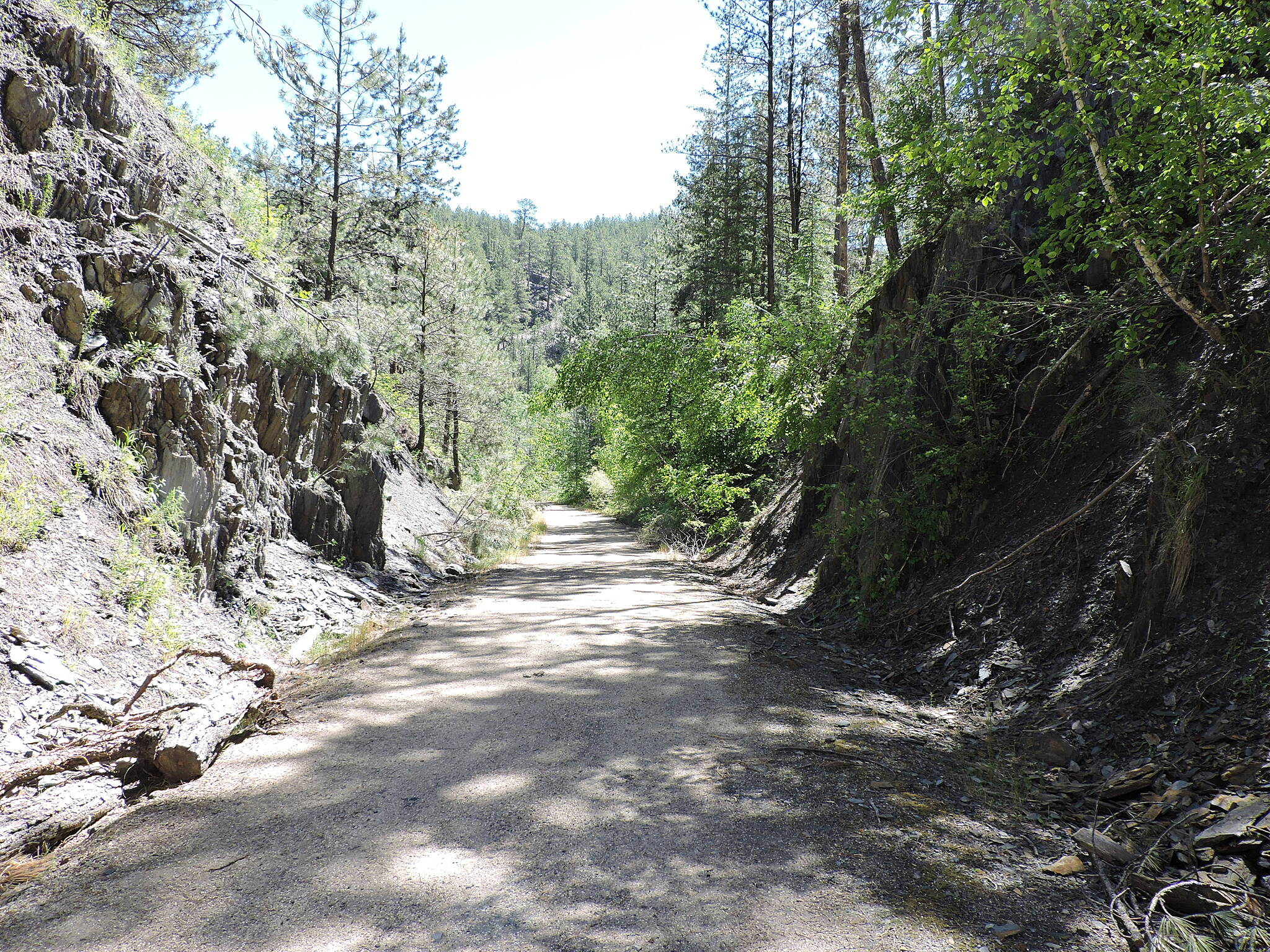 George S. Mickelson Trail Trail north of Hill City
