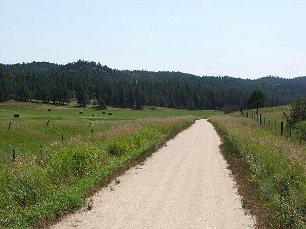 George S. Mickelson Trail South of Custer
