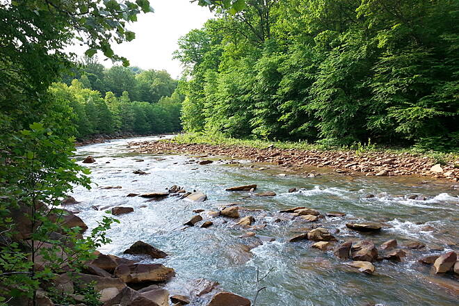Ghost Town Trail 5/28/15 Blacklick Creek