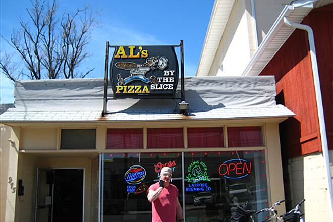 Ghost Town Trail April 22, 2008 No trip on the Ghost Town trail would be complete without stopping at Al's Pizza for their world famous coconut cream pie!