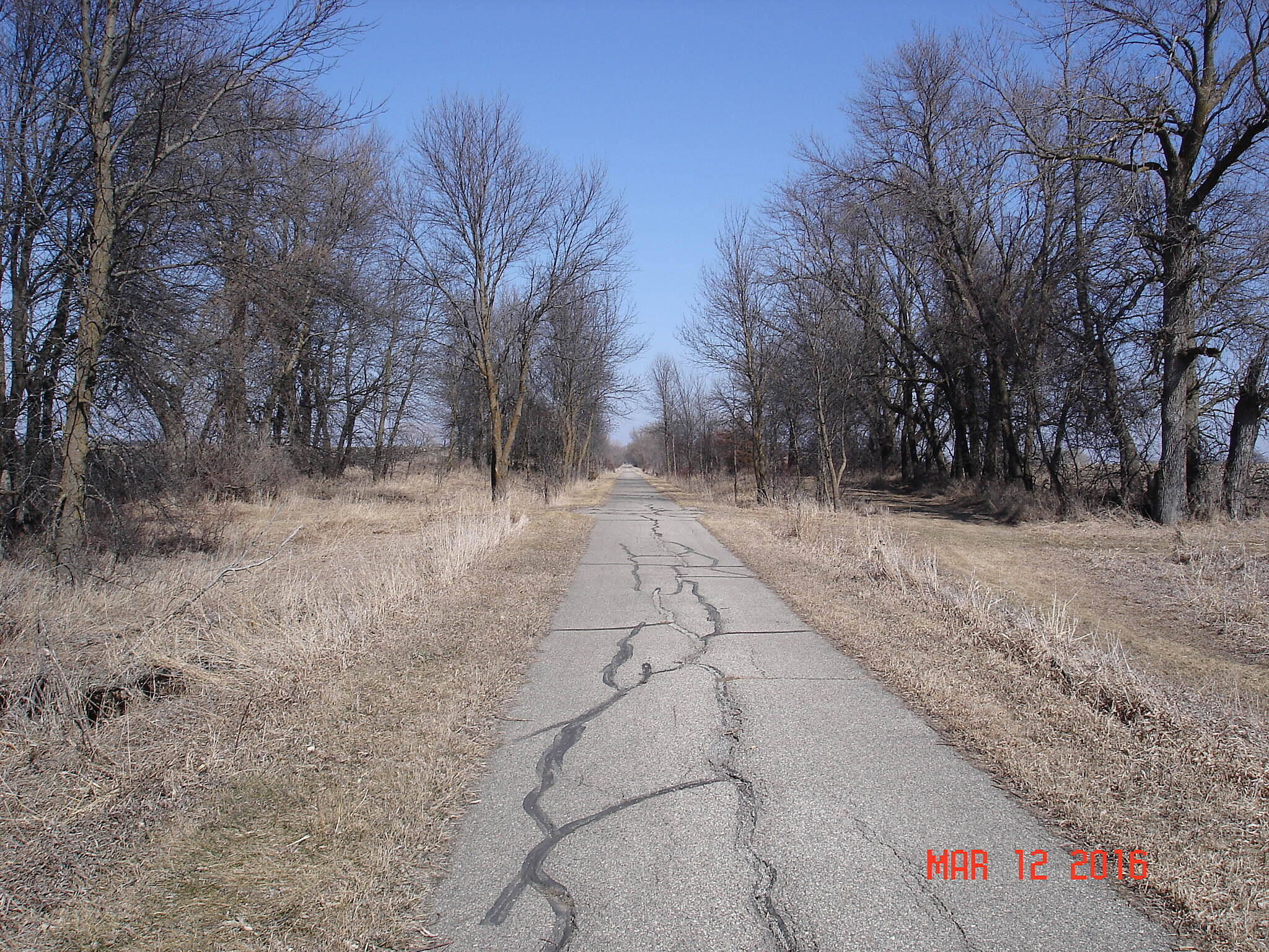 Glacial Lakes State Trail North of Willmar