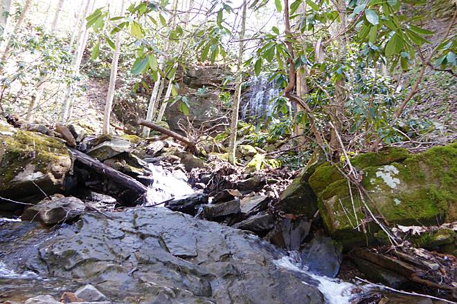 Glade Creek Trail Kates Falls April 2016