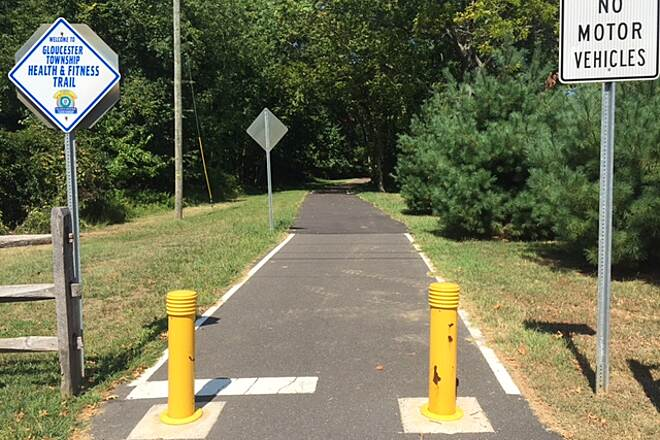 Gloucester Township Health and Fitness Trail (aka Blackwood Railroad Trail) Gloucester Trail