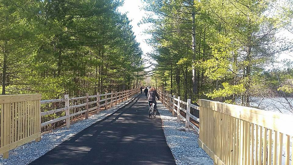 Goffstown Rail Trail Nice Ride