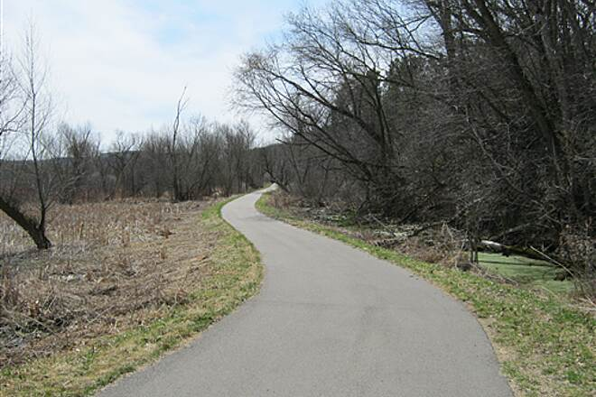 Goodhue Pioneer State Trail  The eastern section, near Red Wing--all smooth asphalt.