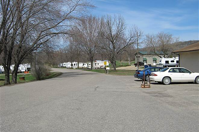 Goodhue Pioneer State Trail  Campgrounds in Hay Creek.