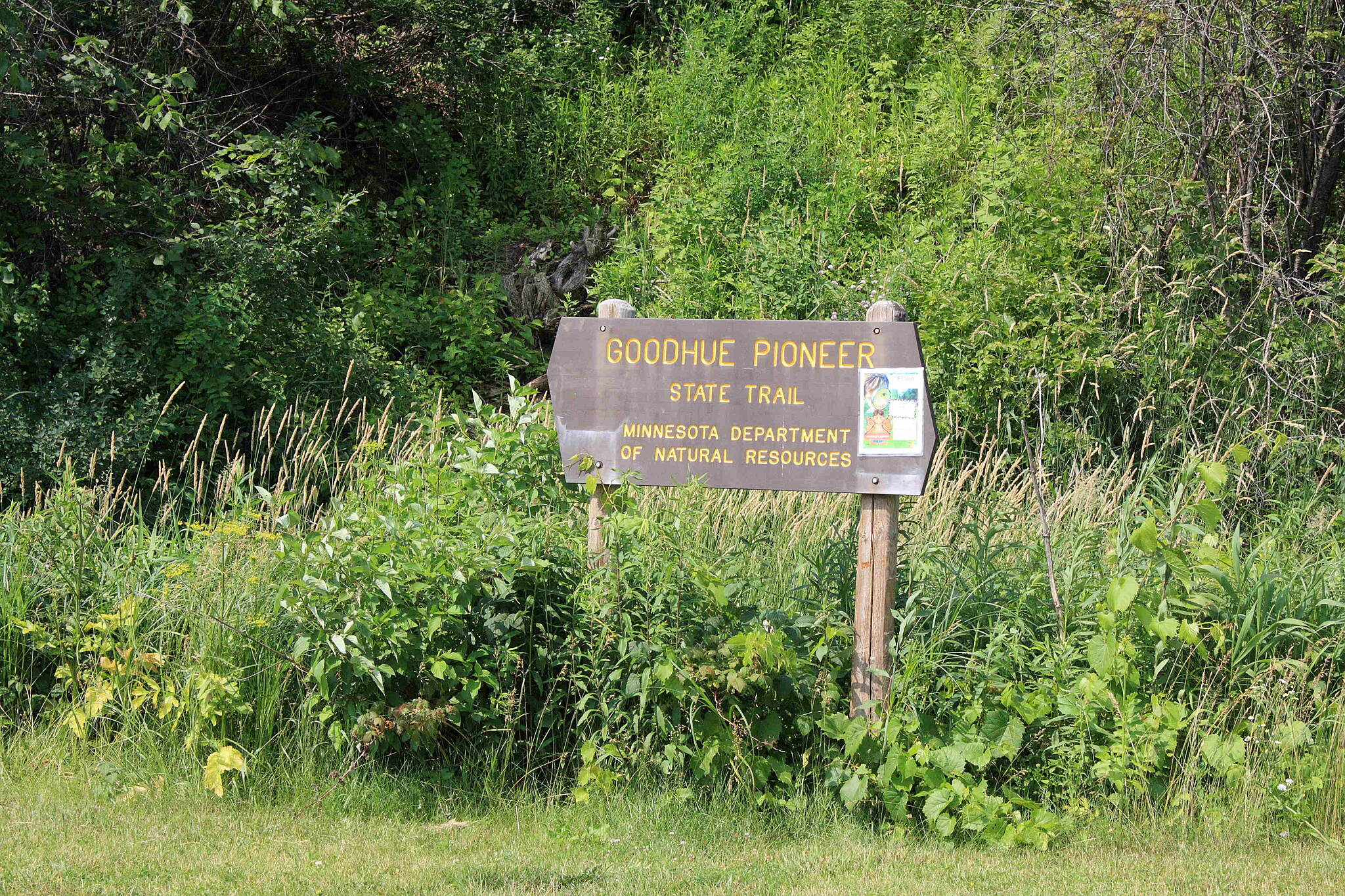 Goodhue Pioneer State Trail Starting in Red Wing Starting in Red Wing for the Goodhue Trail