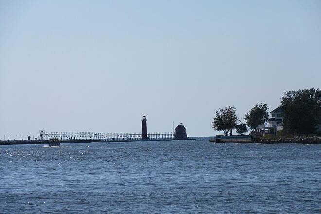 Grand Haven Waterfront Trail the Lighthouse Grand Haven Lighthouse