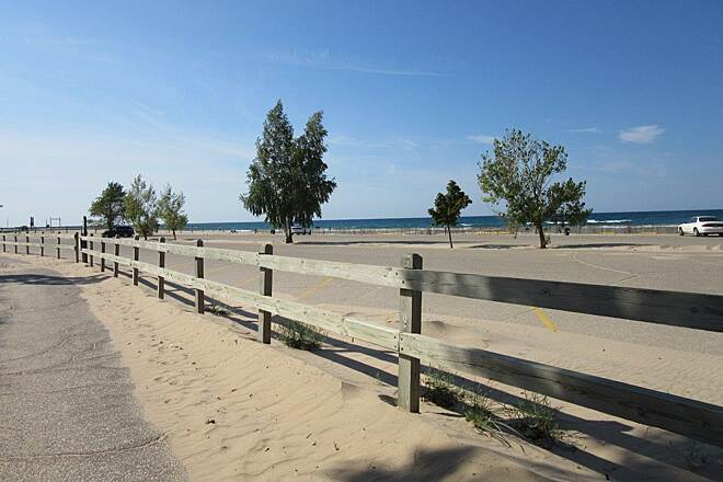 Grand Haven Waterfront Trail Near the State Park Near the state park and campground
