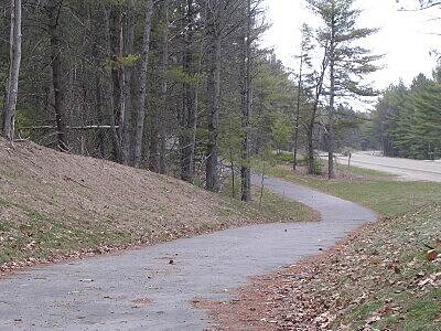 Grayling Bicycle Turnpike Steep and winding hills