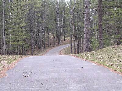 Grayling Bicycle Turnpike Steep trail section More steep and winding hills. It's fun but not easy.