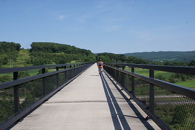 Great Allegheny Passage Salisbury Viaduct  What a view!