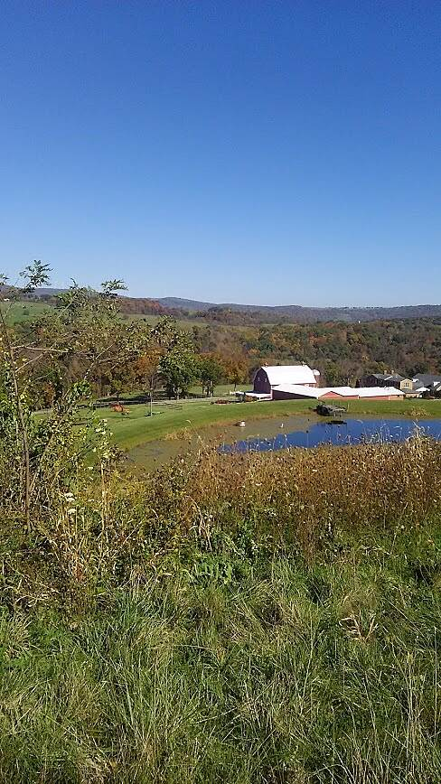 Great Allegheny Passage Farm in Fall