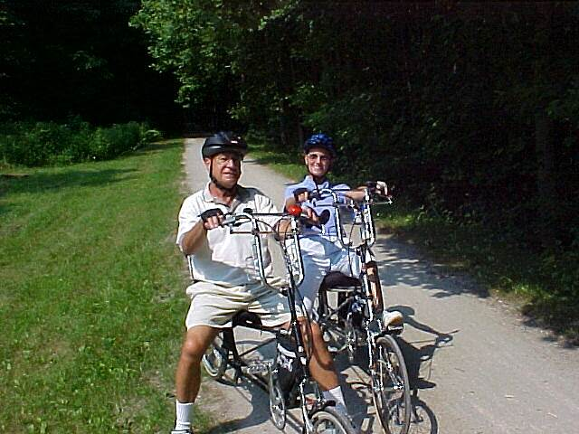 Great Allegheny Passage Sunday Celebration Ride in Ohiopyle My husband and I spent our 23rd wedding anniversary biking the beautiful Ohiopyle trail.