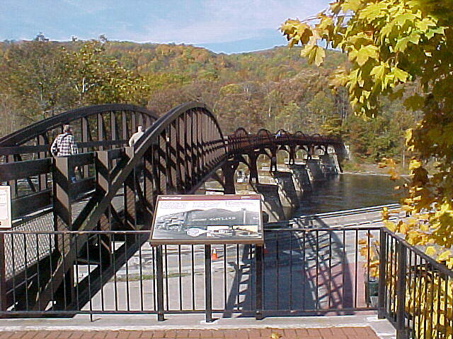Great Allegheny Passage Main Bridge at Ohiolyle