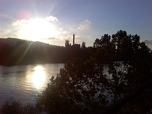 Great Allegheny Passage Carrie Furnace Awesome morning on the trail