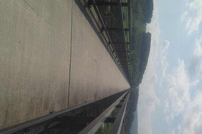 Great Allegheny Passage Bridge over US 219