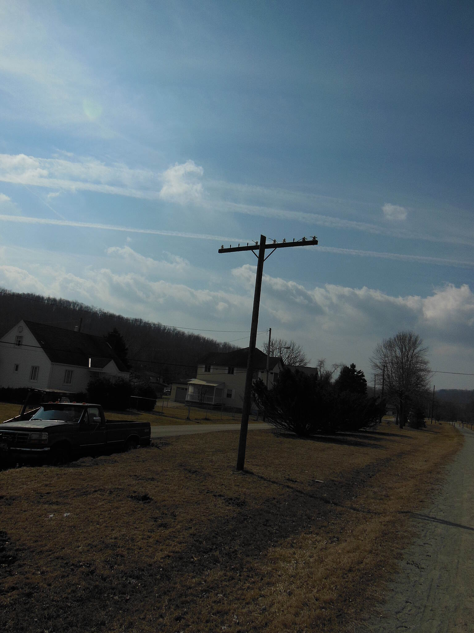 Great Allegheny Passage Lonely telegraph pole