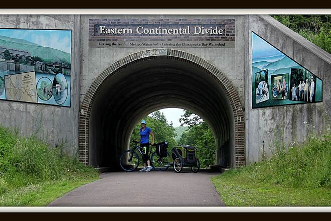 Great Allegheny Passage Eastern Continental Divide What a great ride!