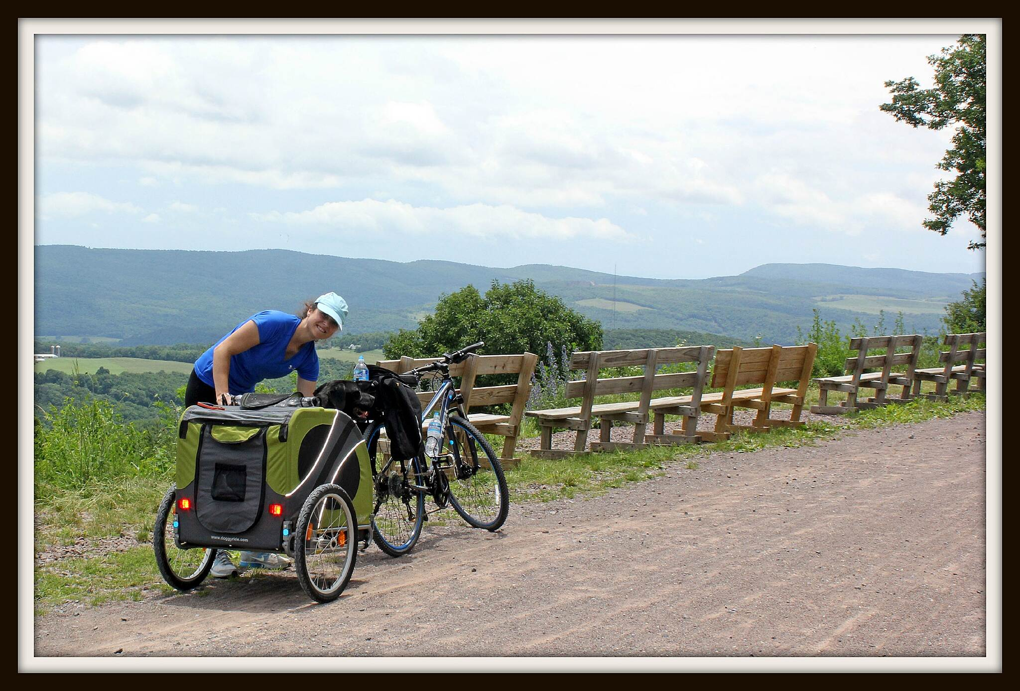 Great Allegheny Passage Don't miss this view!