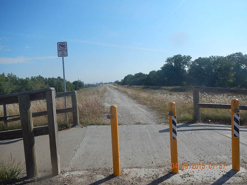 Great Bend Levee Trail End of Paved trail Located at end of Washington St Great Bend, KS