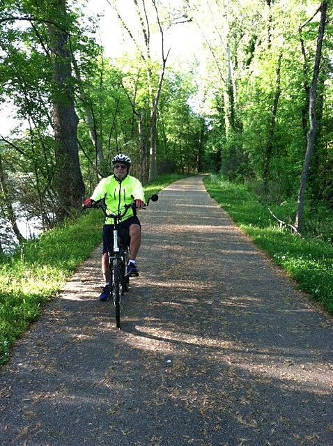 Great Miami River Trail 5-19-15 South of Troy on the way to Tipp City