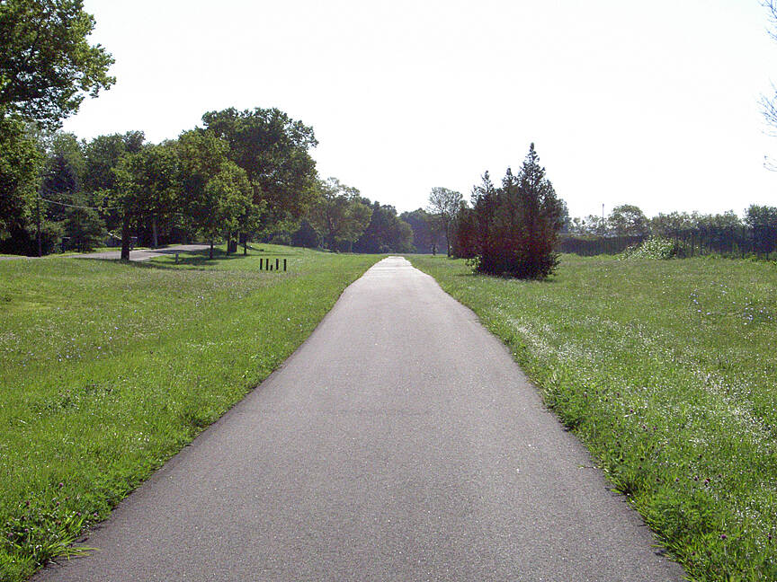Great Miami River Trail West Carrollton July 2015 Northbound along Hydraulic Rd