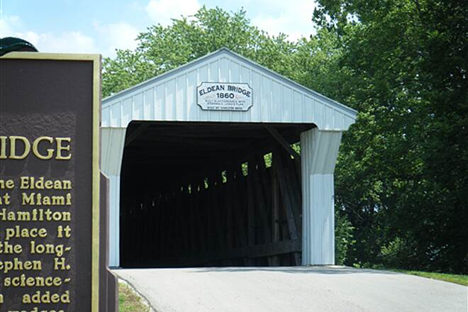 Great Miami River Trail Eldean Covered Bridge Eldean Covered Bridge