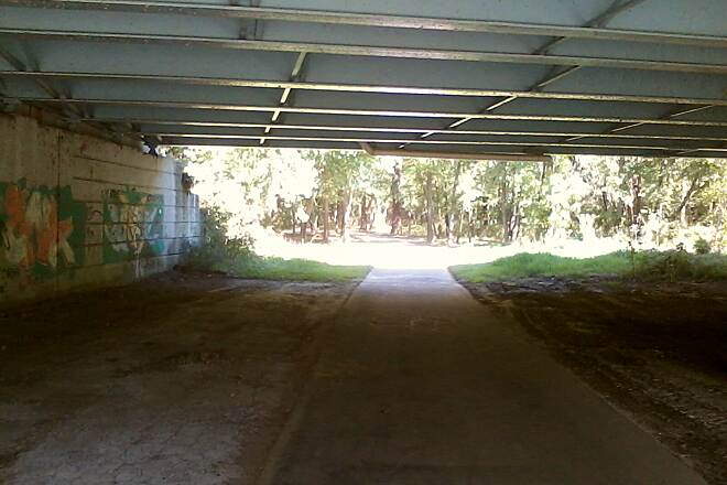 Great Miami River Trail Under Needmore Rd