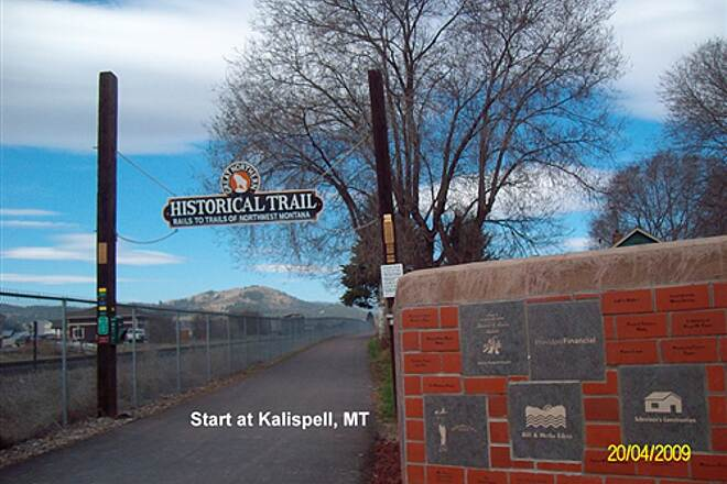 Great Northern Historical Trail Great Northern Historical Trail Start to west at Kalispell