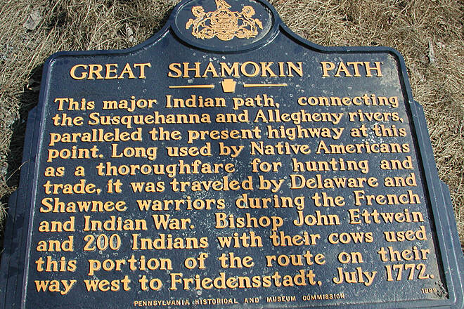 Great Shamokin Path Great Shamokin Path