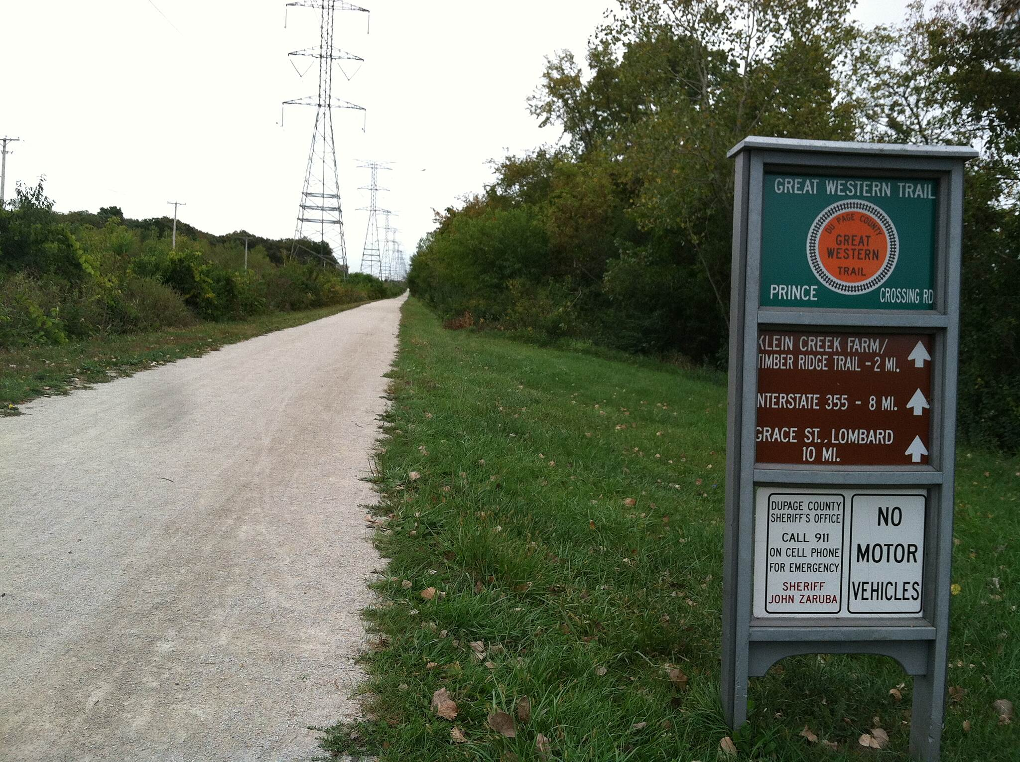 Great Western Trail (DuPage County) GWT Wayfinding