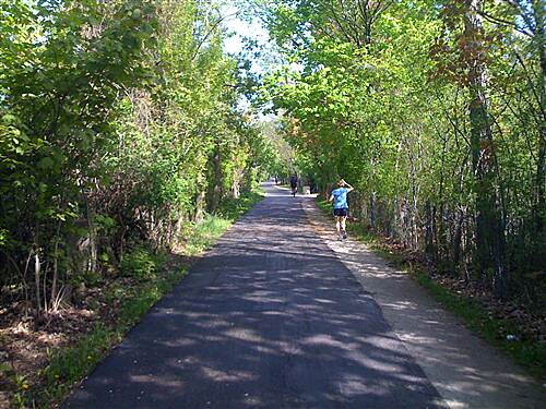 Green Bay Trail Green Bay Trail Looking North just South of Winnetka Road