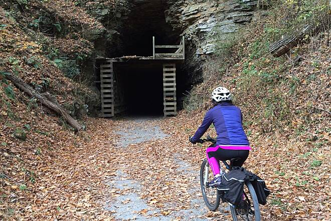 Greenbrier River Trail Tunnel 2
