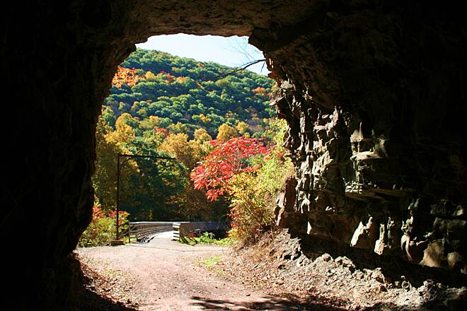 Greenbrier River Trail Sharps Tunnel Another beautiful day on the GRT